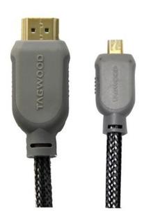Cable Hdmi A Mini-hdmi Full Hd Blu-ray 3d 3 Mt Refabricado