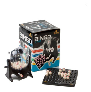 Bingo De 90 Bolillas C/bolillero Portabolilla Cristal E.full