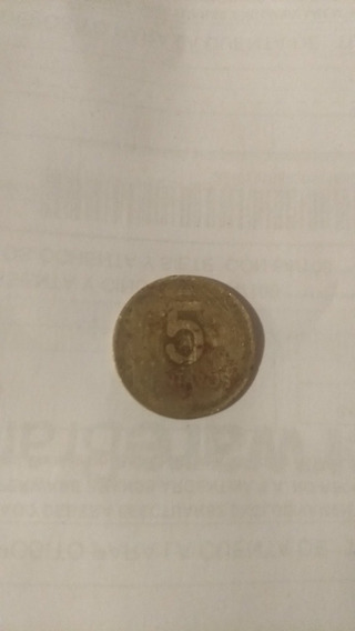 Moneda De 5 Centavos De 1987 Argentina