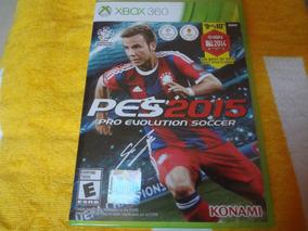 Pes 2015 Xbox 360 Original
