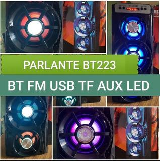 Parlante Portátil Bluetooh Ms Bt 223