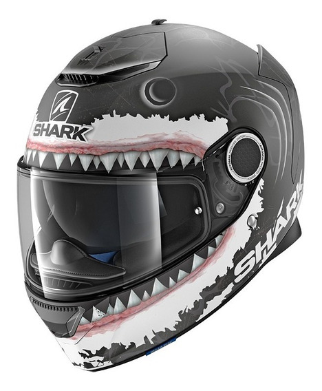 Casco Moto Integral Fibra De Vidrio Shark Spartan Lorenzo