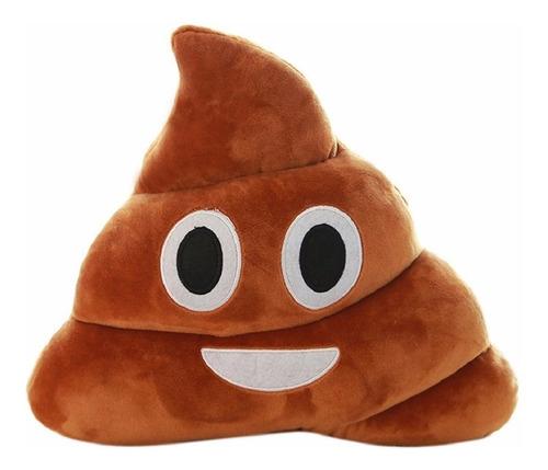 Cojin Emoji Emoticon Whatsapp Popo Caca 35cm Grande
