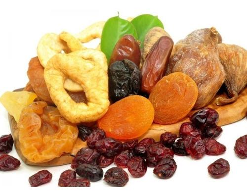 Mix De Frutas Desidratadas Frescas Sem Açúcar Completo 1 Kg