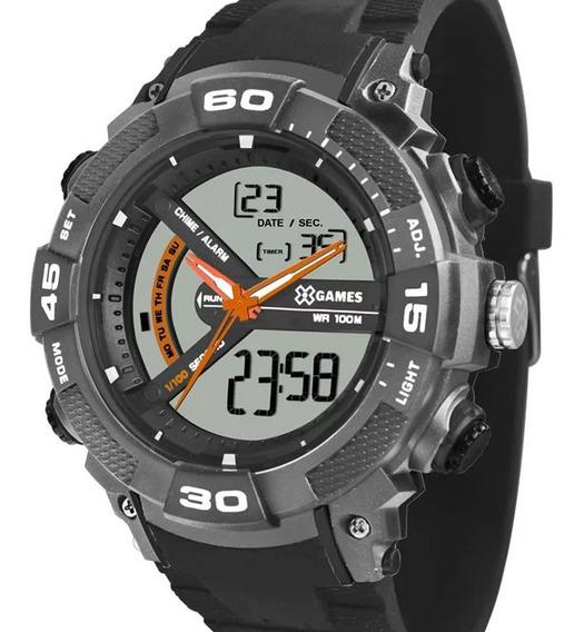 Relógio X-games Masculino Xmppa279 Bxpx C/ Garantia E Nf