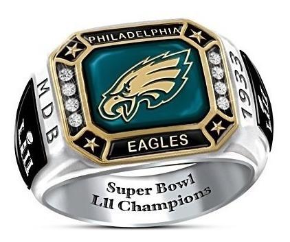 Anel Eagles Super Bowl Lii Champions - Com Certificado