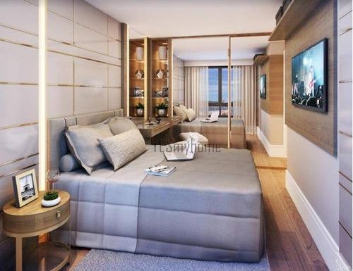 Apartamento Com 2 Dormitórios À Venda, 55 M² Por R$ 489.800,00 - Alto Da Glória - Curitiba/pr - Ap3582