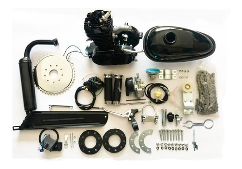 Kit Motor Bicicleta Motorizada Gasolina 80cc Potente Bike 2t