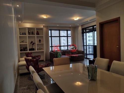 Apartamento À Venda, 180 M² Por R$ 1.300.000,00 - Ponta Da Praia - Santos/sp - Ap10322