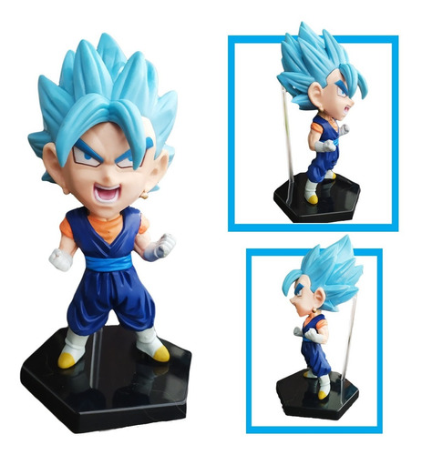 Dragon Ball Figura Vegetto Blue Juguete Didactico Jugueteria