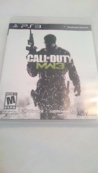 Jogo Call Of Duty Modern Warfare 3 Mw3 Game Ps3 Dvd Original