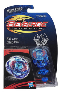 Beyblade Legends Bb-70 Galaxy Pegasus W105r2f Attack