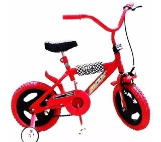 Bicicleta Infantil Rodado 12 Con Rueditas