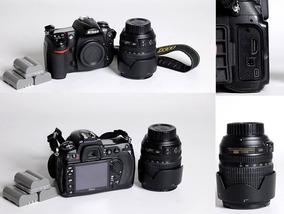 Nikon D 300 + Lente 18/105 Vr+ Carregador+5 Baterias