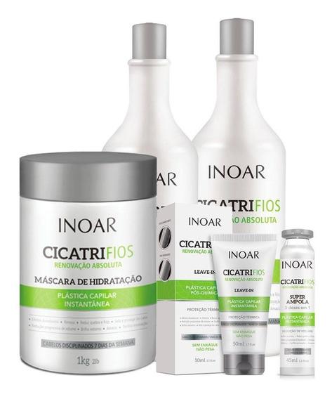 Kit Inoar Cicatrifios 5 Produtos+botox Wh Maria Escandalosa