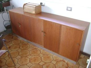 ! Oferta ! Mueble Gabinete En Formica 5 Puertas (1.70x40x80)
