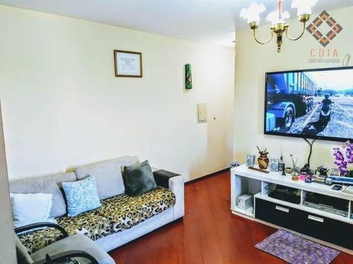 Apartamento Com 2 Dormitórios À Venda, 62 M² Por R$ 303.000,00 - Jabaquara - São Paulo/sp - Ap45945