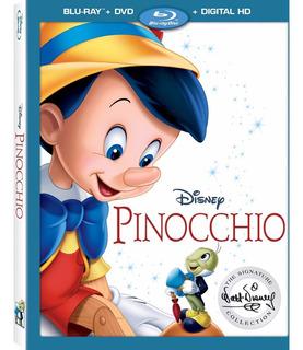 Blu-ray + Dvd Pinocchio / Pinocho