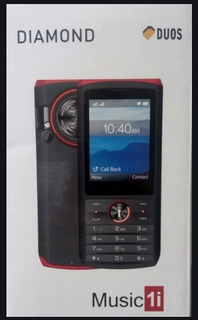 Celular Diamond D80 Simx2 Mp3 Bluetooth Camara Radio 2.8