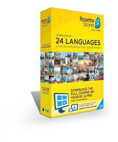 Roseta Stone - Idiomas Completo Do Básico Ao Avançado ©