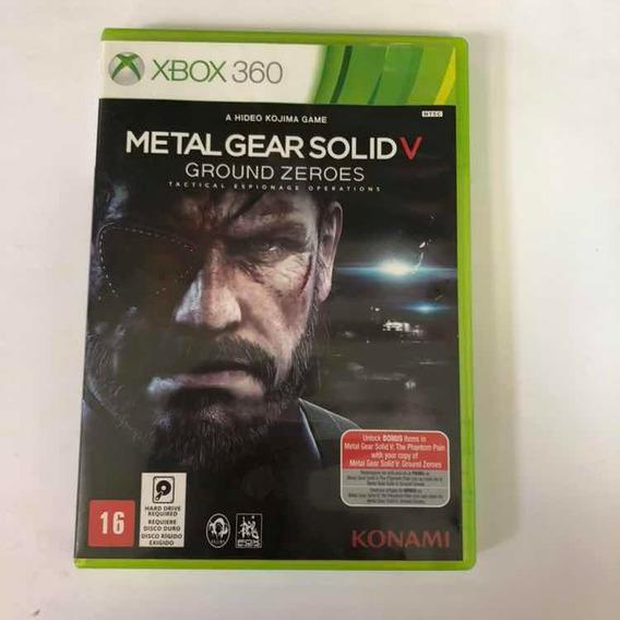 Metal Gear Solid V Groud Zeroes Xbox 360 Usado