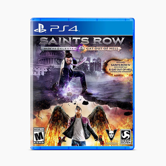 Saints Row Iv: Re-elected + Gat Of Hell - Ps4
