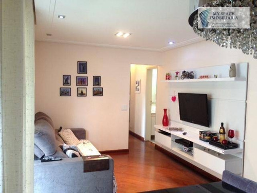 Apartamento Com 3 Dormitórios À Venda, 84 M² Por R$ 549.000,00 - Vila Regente Feijó - São Paulo/sp - Ap1702