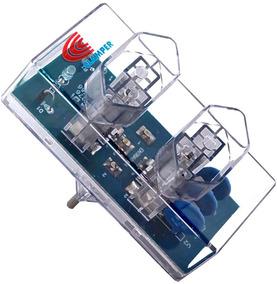 Protetor Energia Clamper 2 Tomadas Raios Dps + Brinde