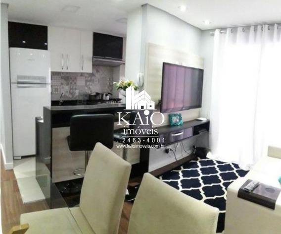 Apartamento No Parque Residence De 58m² Com 2 Dormitórios 1 Suite 1 Vaga - Ap1166