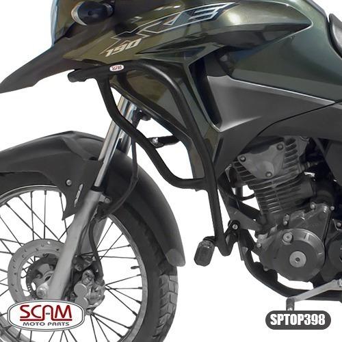 Protetor Motor Carenagem Honda Xre 190 Scam Com Pedaleiras
