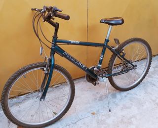 Bicicleta Mountine Bike Pioneer Shimano Rodado 24