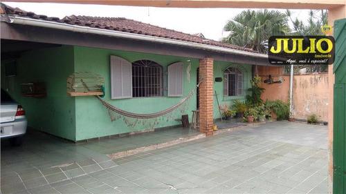 Imagem 1 de 13 de Entrada R$ 74.000,00 + Saldo Super Facilitado, Use Seu Fgts, Casa  3 Dormitórios, Jussara, Mongaguá. - Ca2078