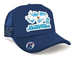 Gorra Trucker Malvinas Argentinas 1982 Son Y Serán Siempre
