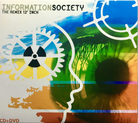 Cd Original Information Society - The Remix 12
