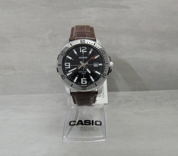 Relógio Masculino Casio Mtp-vd01l-1bvudf - Nf Garantia Casio