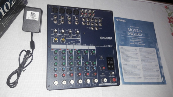Mesa De Som/mixer Yamaha Mg102c (usado)