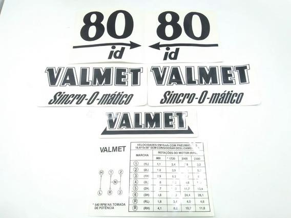 Jogo Decalque Completo Valmet 80id 200990