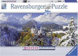 Rompecabezas Ravensburguer - Castillo Neuschwanstein 2000 P