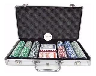 Fichero Poker 300 Pza. Numeradas Profesionales 11.5 Gramos