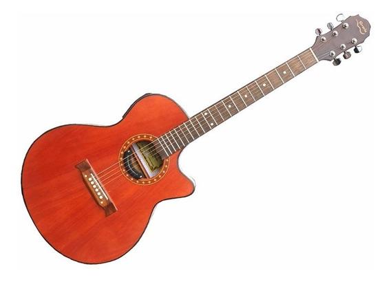 Guitarra Electroacustica Gracia 340eq C/ Corte Afinador Y Eq