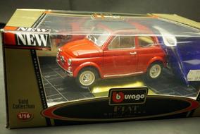 Fiat 500 1965 Bburago 1:18 Pq Defeito Ñ Minichamps Senna F1