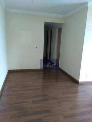 Apartamento Com 3 Dormitórios À Venda, 80 M² Por R$ 740.000,00 - Aclimação - São Paulo/sp - Ap35904
