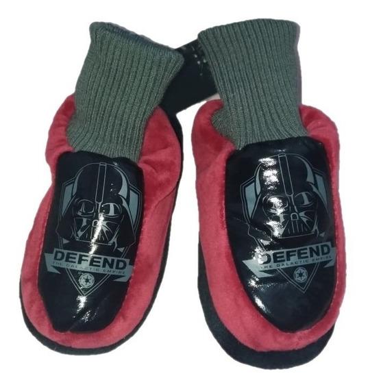 Pantufa Flat Infantil Star Wars Darth Vader