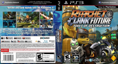 ratchet clank tools of destruction