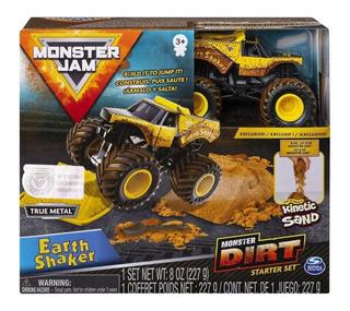 Monster Jam- Earth Shaker- Monster Dirt Con Arena Kinetica