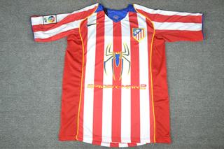 Camisa Atletico De Madrid 2004-05 Torres 9 La Liga