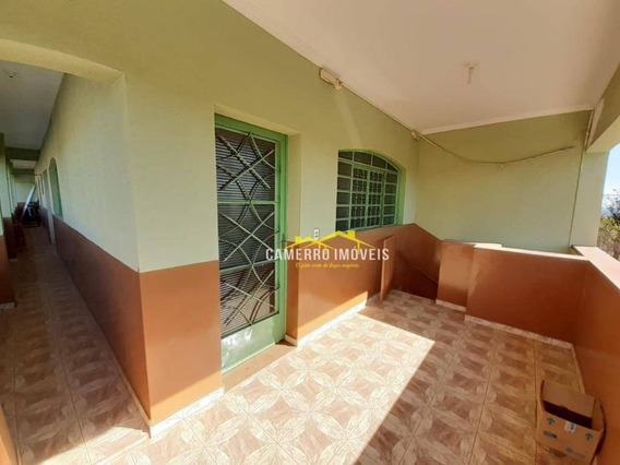 Casa Com 2 Dormitórios Para Alugar, 85 M² Por R$ 800,00/mês - Vila Mollon Iv - Santa Bárbara D
