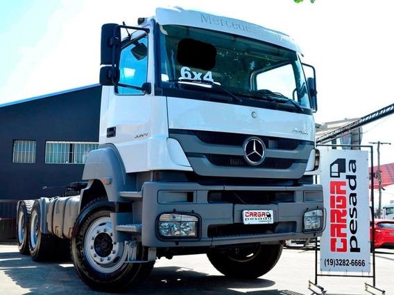 Mb 3344 Axor 6x4 2015 Tracado = 2644 Scania G440 Fh 540 520