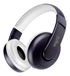 Auricular Bluetooth Nisuta + Micro Sd + Radio Fm + Mic