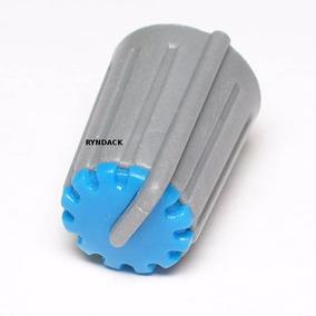 5 Peças * Botão Knob Ka481 Azul Para Potenciômetro Volume